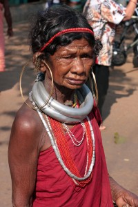 Adivasi woman in Onkadelli