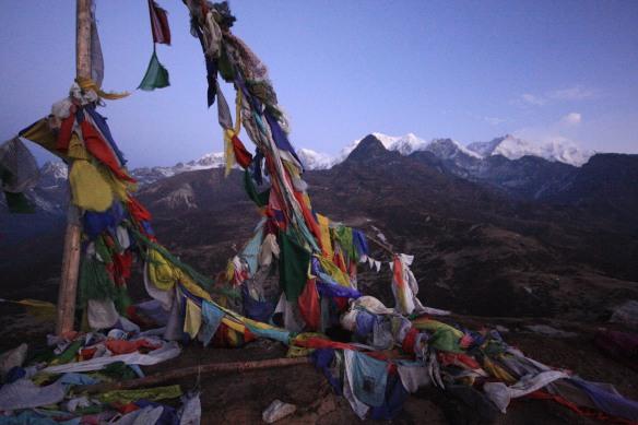 Khangchendzonga, seen from small peak above Dzongri