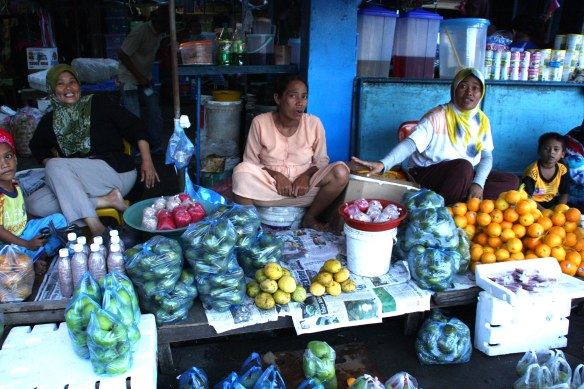 market, Semporna