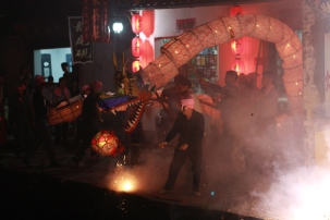 Dragon to celebrate mid-Autumn, Xiao Likeng, Jiangxi