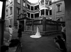 Wedding photos, Gulang Yu, Fujian