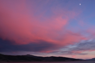 Sunset at Tsagaan Nuur (White Lake)