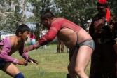 Wrestling, Naadam festival, Chandmani, West Mongolia