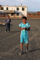 Boys in Chandmani, West Mongolia