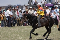 Naadam festival horse racing, Khovd city, West Mongolia