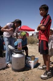 Naadam celebrations, Khovd, West Mongolia