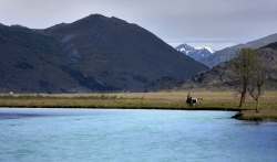 Tsagaan Us Gol (white water river), Altai Tavan Bogd National Park