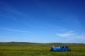 Crossing Khentii aimag, East Mongolia
