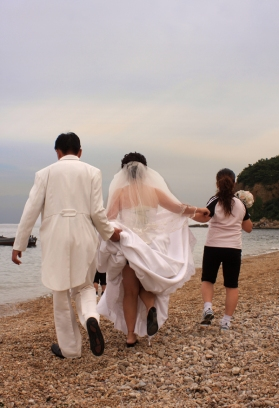 Wedding photos, Dalian, Liaoning