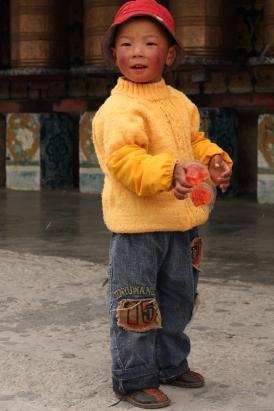 Boy, Litang, Sichuan