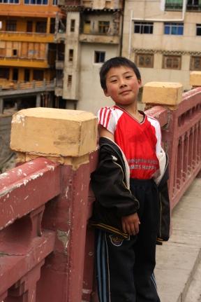 Boy, Xinlong, Sichuan