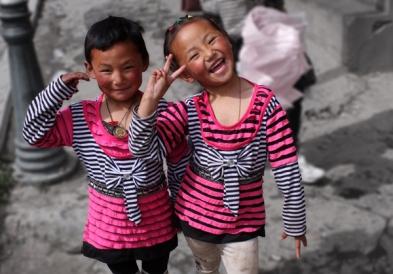 Kids, Ganzi, NW Sichuan