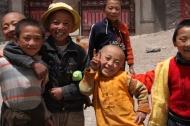 Cheeky kids, Dege, NW Sichuan