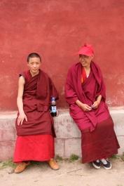 Trainee lamas, Dzogchen Gompa monastery, NW Sichuan